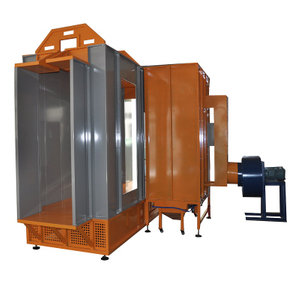 Pass Thru Powder Coating Spray Booth