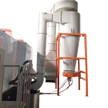 Mono-cyclone Automatic Powder Spray Booth, Fast Color Change Powder Spray Booth