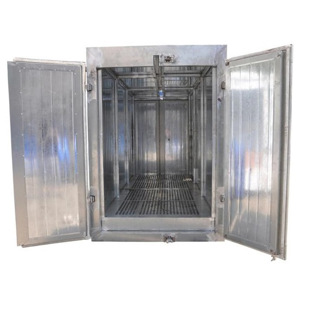 Electric Powder Coating Oven with Top Track