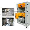 Powder Feed Center, Fast Color Change in Automatic Coating Line
