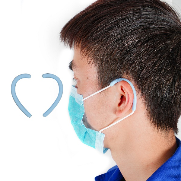 Silicone Ear Protection, Loop Ear Muffs for Face Mask
