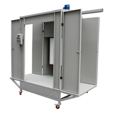 Pass Through Powder Coating Booth, Multi Purpose Spray Booth